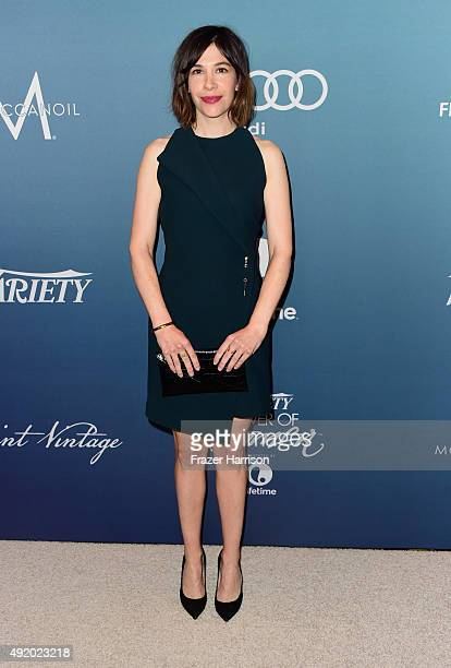 Musician Carrie Brownstein attends Variety's Power Of Women Luncheon at the Beverly Wilshire Four Seasons Hotel on October 9 2015 in Beverly Hills...
