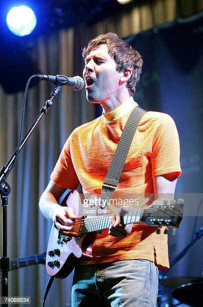 Musician Cass McCombs performs onstage at the ASCAP Tribeca Music Lounge held at the Canal Room during the 2007 Tribeca Film Festival on May 3 2007...