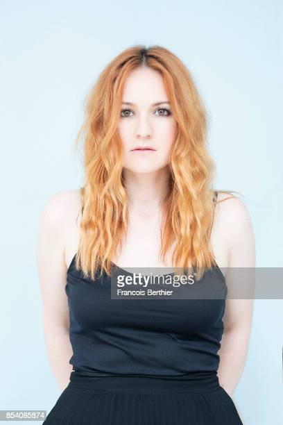 Musician Cathialine is photographed on June 27 2017 in Paris France