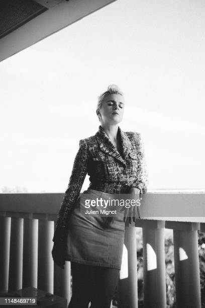 Musician Cécile Cassel poses for a portrait on May 15 2019 in Cannes France