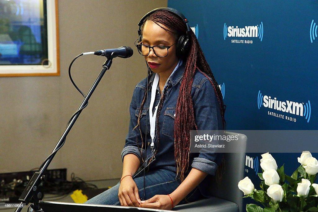 Celebrities Visit SiriusXM Studios - August 31, 2015 : News Photo