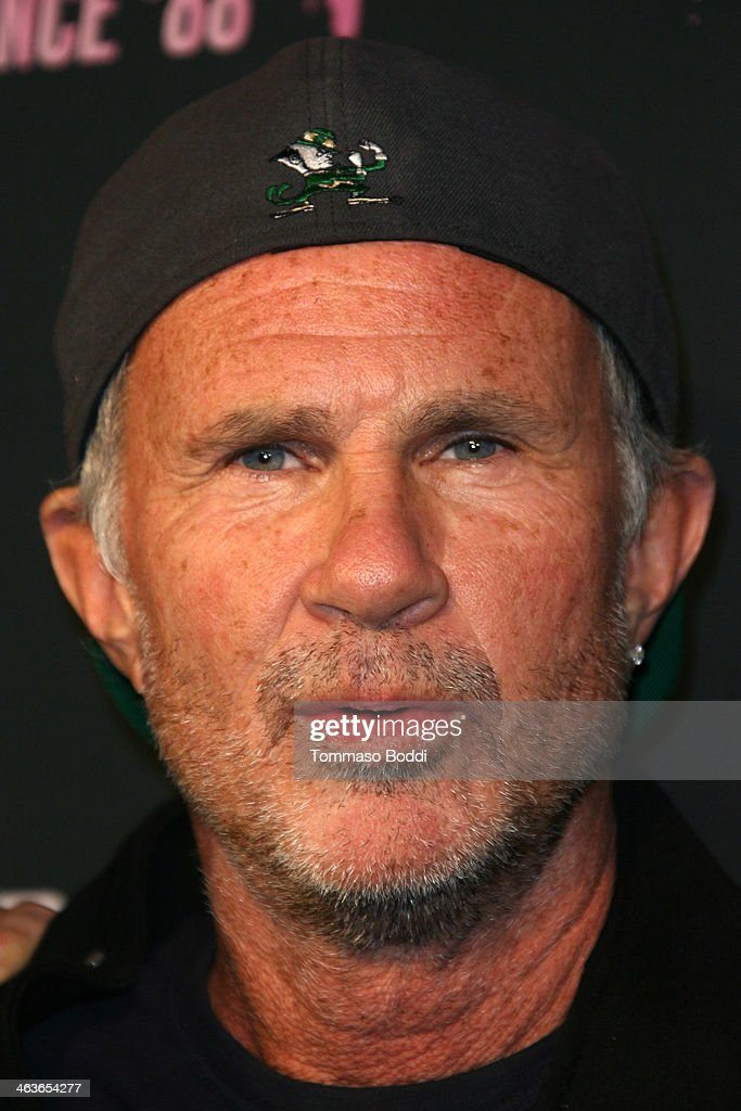 Musician Chad Smith attends the Guitar Center's 25th annual Drum-Off grand finals held at Club Nokia on January 18, 2014 in Los Angeles, California.