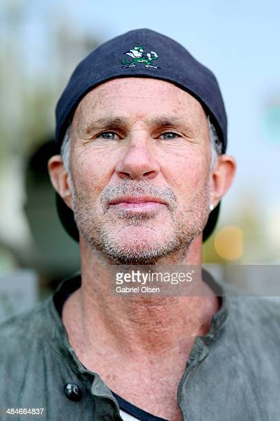 Musician Chad Smith attends the John Varvatos 11th Annual Stuart House Benefit presented by Chrysler Kids Tent by by Hasbro at John Varvatos Boutique...
