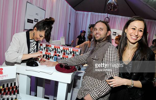 Musician Chad Wolf attends GRAMMY Gift Lounge during The 54th Annual GRAMMY Awards at Staples Center on February 9 2012 in Los Angeles California