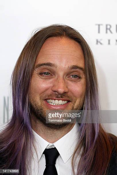 Musician Chad Wolf of Carolina Liar attends the True Reflection fragrance launch benefiting dress for success held at The London Hotel on March 22...