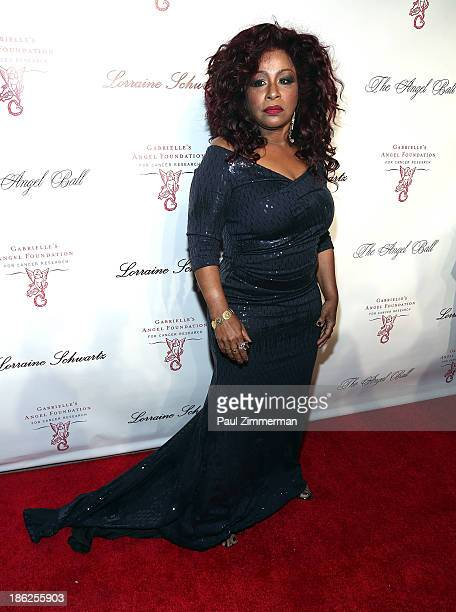 Musician Chaka Khan attends Angel Ball 2013 at Cipriani Wall Street on October 29 2013 in New York City