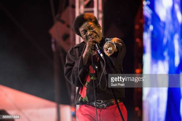Musician Charles Bradley performs at the Sasquatch Music Festival at Gorge Amphitheatre on May 26 2017 in George Washington