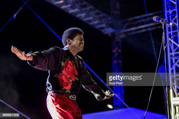 Musician Charles Bradley performs at the Sasquatch! Music Festival at Gorge Amphitheatre on May 26, 2017 in George, Washington.