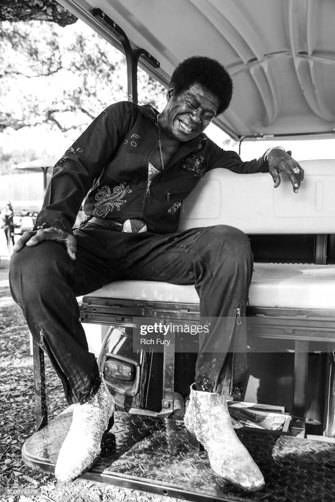 Musician Charles Bradley poses for a portrait at Arroyo Seco Weekend at the Brookside Golf Course at on June 24, 2017 in Pasadena, California.