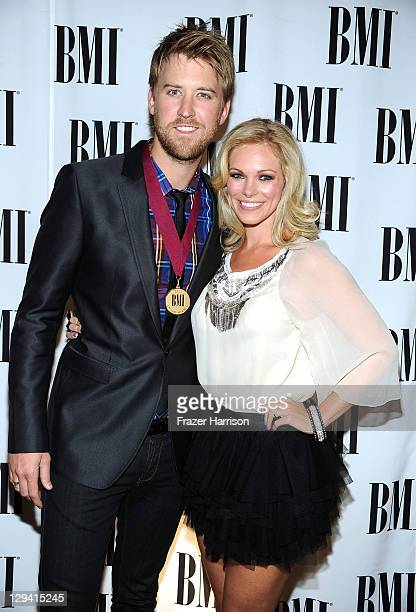Musician Charles Kelley of Lady Antebellum and Cassie McConnell attend the 59th Annual BMI Pop Awards at the Beverly Wilshire Four Seasons Hotel on...