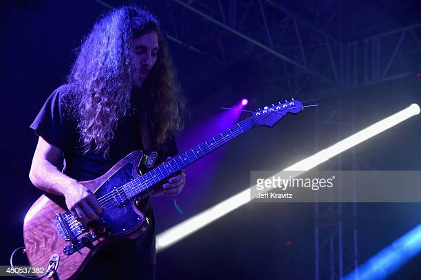 Musician Charles Moothart performs onstage with Ty Segall at This Tent during day 1 of the 2014 Bonnaroo Arts And Music Festival on June 12 2014 in...