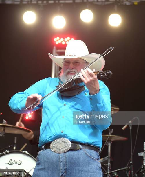 Musician Charlie Daniels performs on Fox Friends' AllAmerican Summer Concert Series at FOX Studios on June 16 2017 in New York City