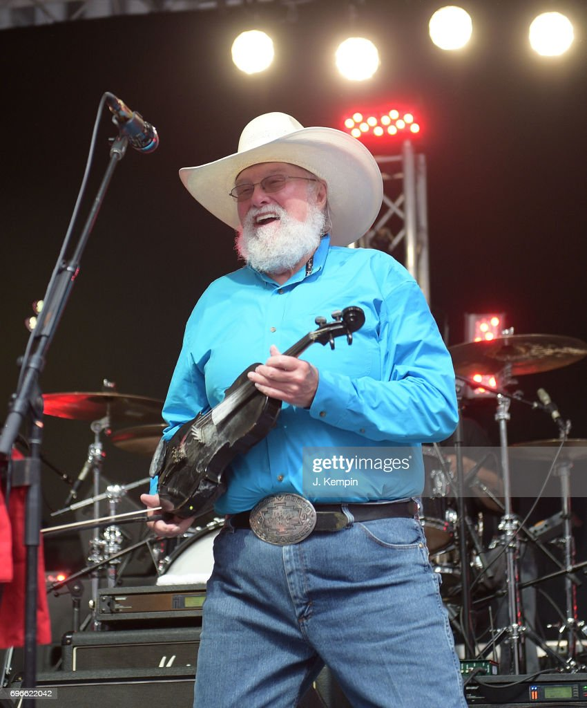 Musician Charlie Daniels performs on Fox & Friends' All-American Summer Concert Series at FOX Studios on June 16, 2017 in New York City.