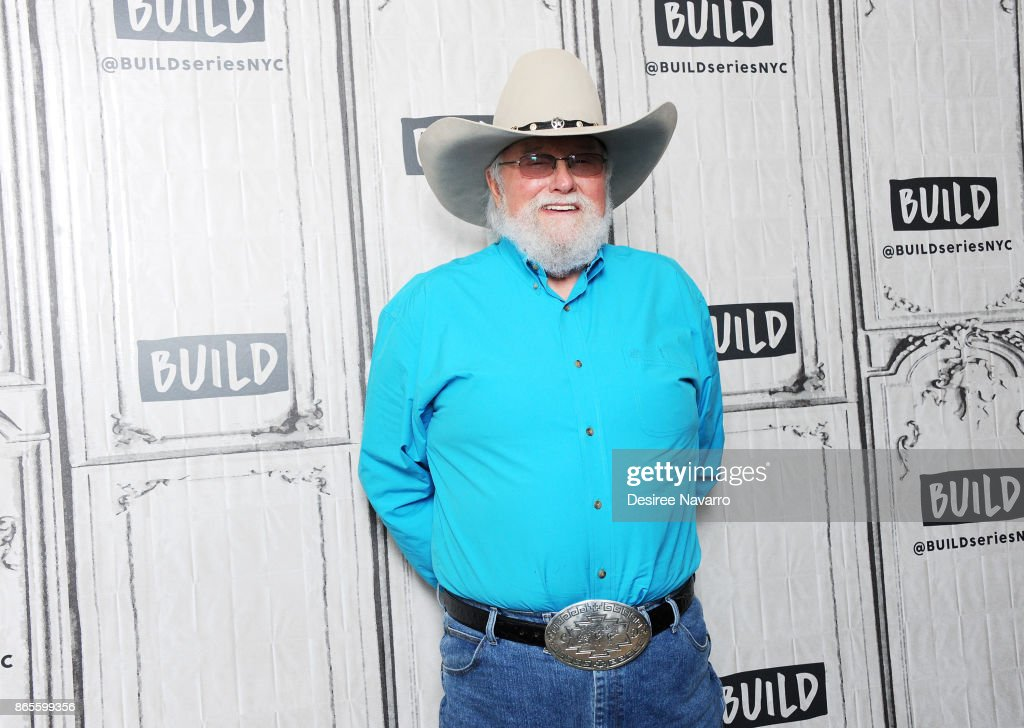 Musician Charlie Daniels visits Build to discuss his book 'Never Look at the Empty Seats: A Memoir' at Build Studio on October 23, 2017 in New York City.