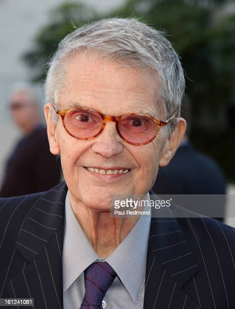 Musician Charlie Haden arrives at the Recording Academy Special Merit Awards Ceremony at The Wilshire Ebell Theatre on February 9 2013 in Los Angeles...