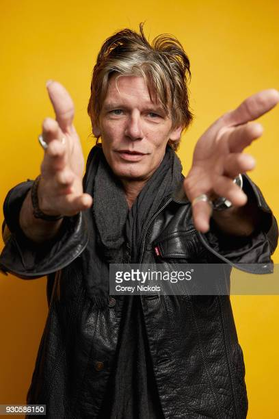 Musician Charlie Sexton from the film 'Blaze' poses for a portrait in the Getty Images Portrait Studio Powered by Pizza Hut at the 2018 SXSW Film...