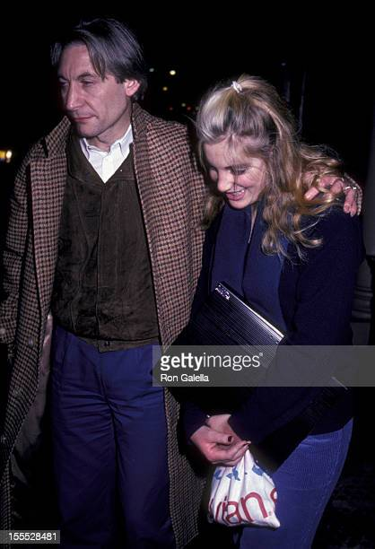 Musician Charlie Watts and daughter Seraphina Watts sighted on October 26 1981 at Joanna's Restaurant in New York City