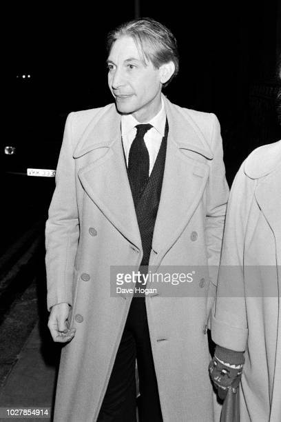 Musician Charlie Watts of The Rolling Stones is seen in London 1983