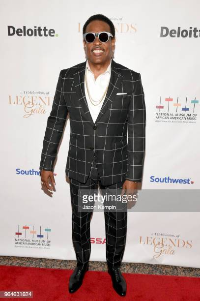 Musician Charlie Wilson attends NMAAM Celebration of Legends Gala on May 31 2018 in Nashville Tennessee
