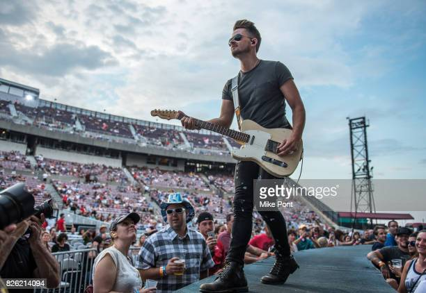 Musician Chase Bryant performs at Northwell Health at Jones Beach Theater on August 3 2017 in Wantagh New York