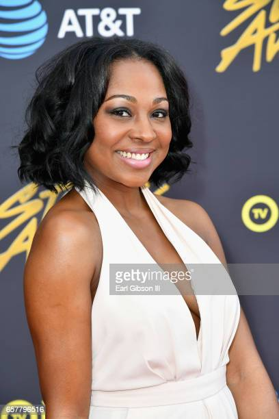 Musician Cheneta Jones arrives at the 32nd annual Stellar Gospel Music Awards at the Orleans Arena on March 25, 2017 in Las Vegas, Nevada.