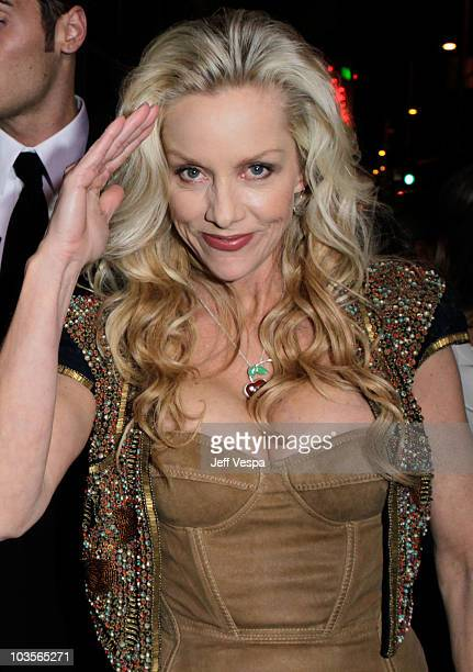 Musician Cherie Currie arrives at the Los Angeles Premiere of The Runaways presented by Apparition and KLIPSCH at ArcLight Cinemas Cinerama Dome on...