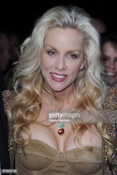 Musician Cherie Currie arrives at the premiere of Apparition's 'The Runaways' held at ArcLight Cinemas Cinerama Dome on March 11 2010 in Los Angeles...