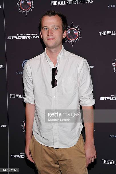 Musician Chris Baio attends The Amazing SpiderMan New York Special Screening at Regal Union Square Theatre Stadium 14 on June 28 2012 in New York City