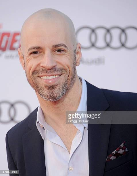 Musician Chris Daughtry arrives at the Los Angeles premiere of Marvel's 'Avengers Age Of Ultron' at Dolby Theatre on April 13 2015 in Hollywood...