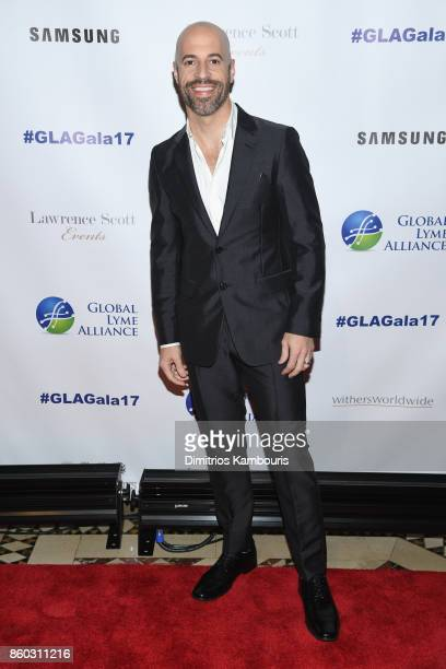 Musician Chris Daughtry attends the Global Lyme Alliance third annual New York City Gala on October 11 2017 in New York City