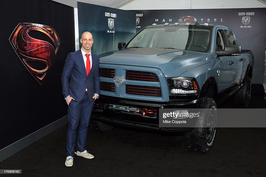 Musician Chris Daughtry attends the 'Man of Steel' NYC premiere sponsored by RAM at Alice Tully Hall at Lincoln Center on June 10, 2013 in New York City.