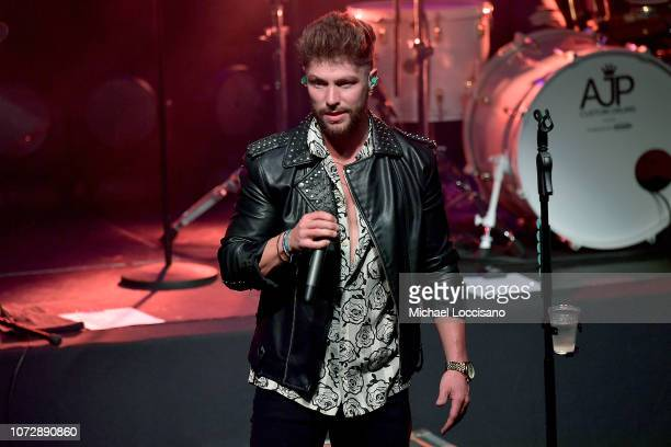 Musician Chris Lane performs at Irving Plaza on December 13 2018 in New York City