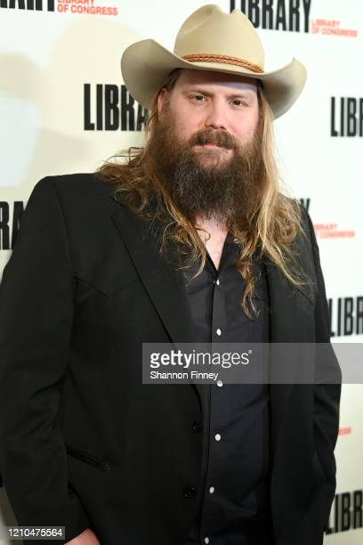 Musician Chris Stapleton at The Library of Congress Gershwin Prize tribute concert at DAR Constitution Hall on March 04, 2020 in Washington, DC.