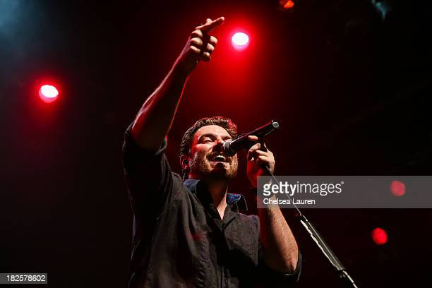 Musician Chris Young performs at House of Blues Sunset Strip on September 30, 2013 in West Hollywood, California.