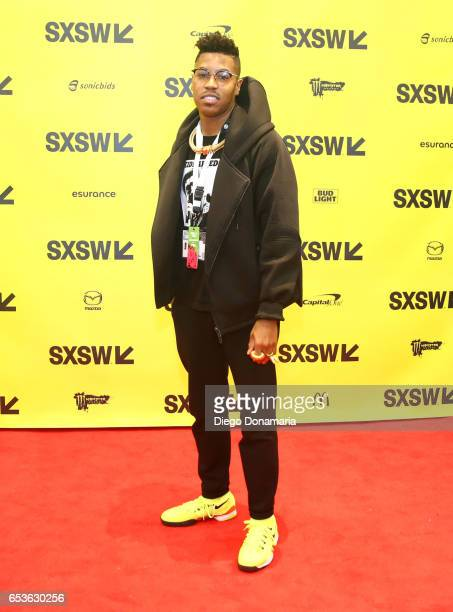 Musician Christian Scott aTunde Adjuah attends 'The Jazz of the Music Biz' during 2017 SXSW Conference and Festivals at Austin Convention Cente on...