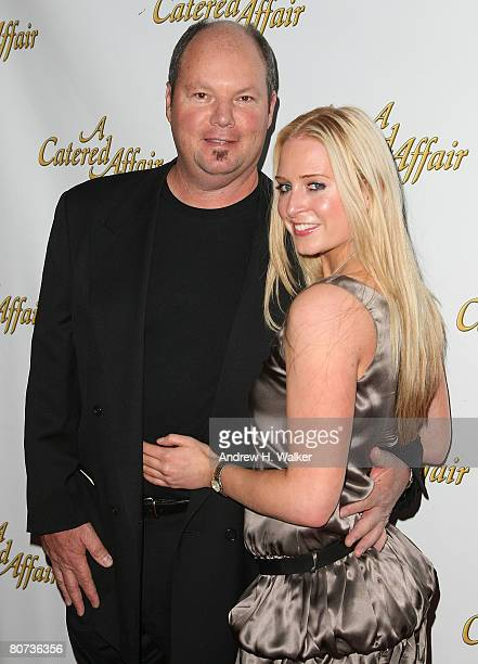 Musician Christopher Cross and Virginia Kennedy attend the opening night of 'A Catered Affair' at the Walter Kerr Theater on April 17 2008 in New...