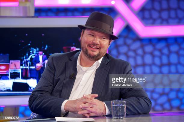 Musician Christopher Cross attends El Hormiguero Tv Show on May 9 2011 in Madrid Spain