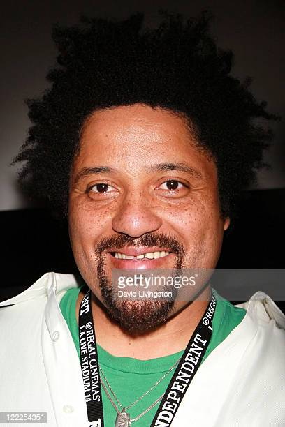 Musician Christopher Dowd of Fishbone attends the Everyday Sunshine QA during the 2010 Los Angeles Film Festival at Regal Cinemas at LA Live Downtown...
