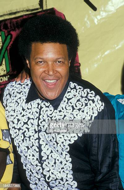 Musician Chubby Checker attends Fifth Annual MTV Video Music Awards on September 7 1988 at the Universal Ampitheater in Universal City California