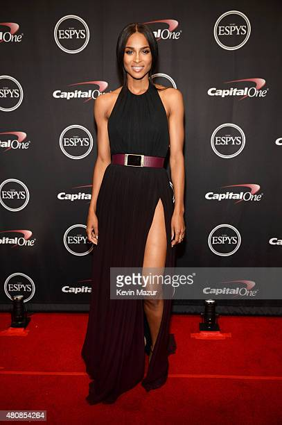 Musician Ciara attends The 2015 ESPYS at Microsoft Theater on July 15 2015 in Los Angeles California