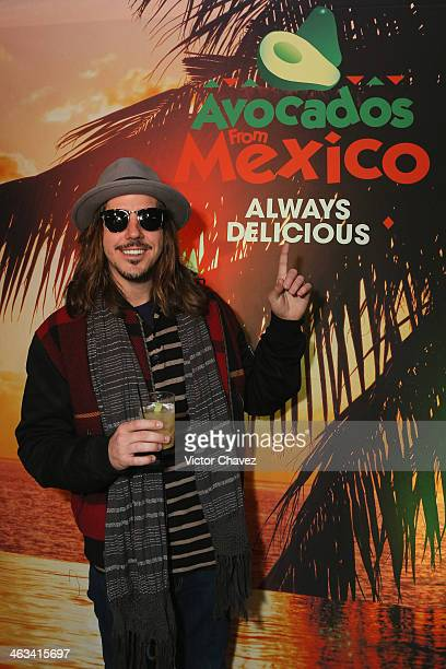 Musician Cisco Adler attends Avocados From Mexico Film Festival Suite on January 17 2014 in Park City Utah