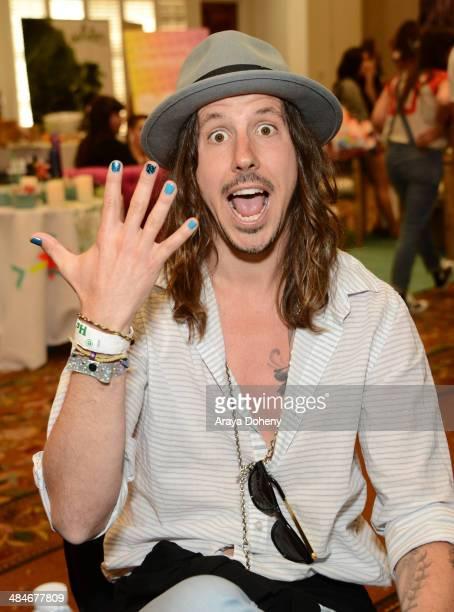 Musician Cisco Adler attends the Kari Feinstein Music Festival Style Lounge at La Quinta Resort and Club on April 13 2014 in La Quinta California