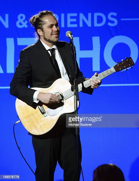 Musician Citizen Cope performs during the 2nd Annual Sean Penn and Friends Help Haiti Home Gala benefiting J/P HRO presented by Giorgio Armani at...