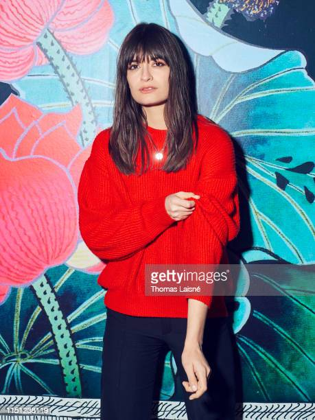 Musician Clara Luciani is photographed for Grazia Magazine on March 2018 in Paris France