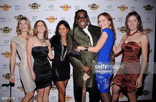 Musician Clarence Clemons and wife Victoria Clemons attend the Big Man Real Life Tall Tales book publishing celebration at the Hard Rock Cafe Times...
