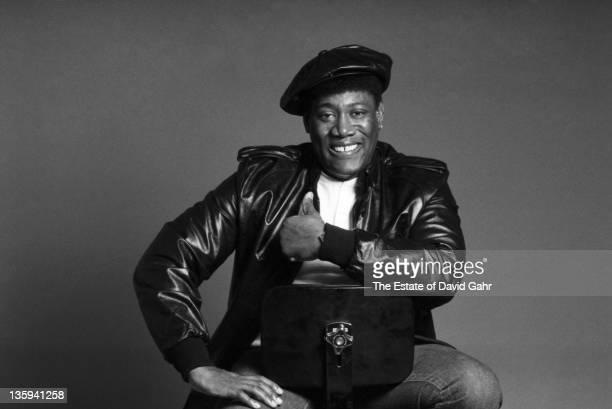 Musician Clarence Clemons poses for a portrait in December 1985 in New York City New York