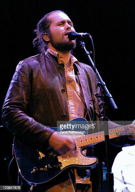 Musician Clarence Greenwood of Citizen Cope performs at The Moore Theater March 21 2008 in Seattle Washington