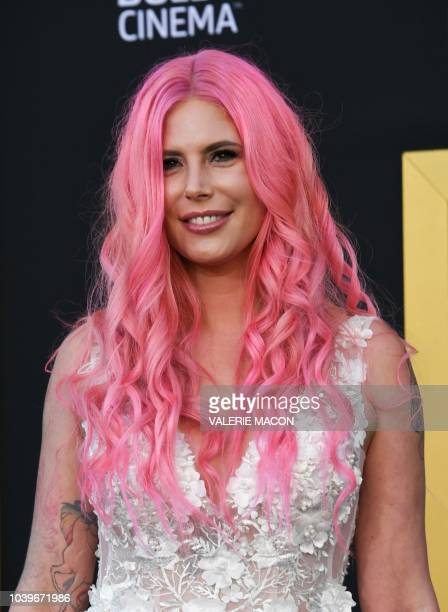 Musician Cleo Rose Elliott attend the premiere of A star is born at the Shrine Auditorium in Los Angeles California on September 24 2018