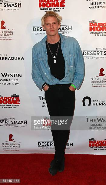 Musician Cody Simpson arrives at 12th Annual Desert Smash benefiting St Jude's Children Research Hospital on March 8 2016 in Rancho Mirage California
