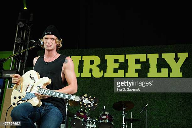 Musician Cody Simpson performs onstage during day 2 of the Firefly Music Festival on June 19 2015 in Dover Delaware